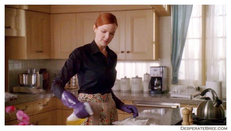 Bree Van De Kamp fait le ménage